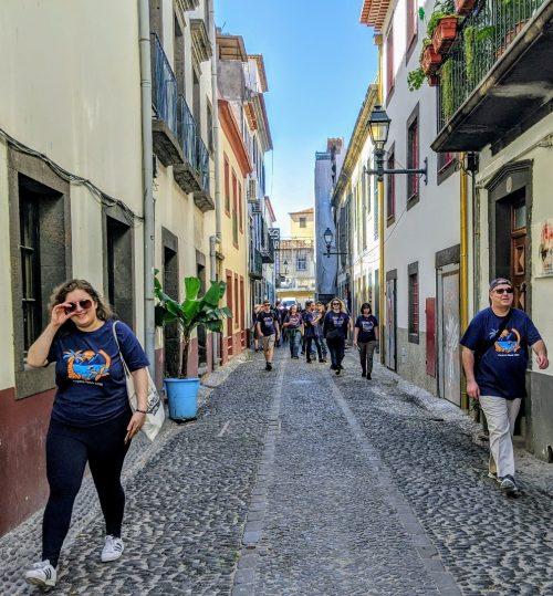 Alleyway in Funchal