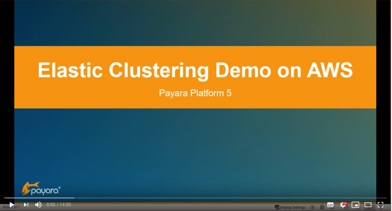 Elastic Clustering Demo on AWS