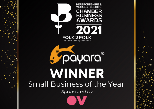 Payara Wins Small Business of the Year Award – Herefordshire & Worcestershire Chamber Business Awards
