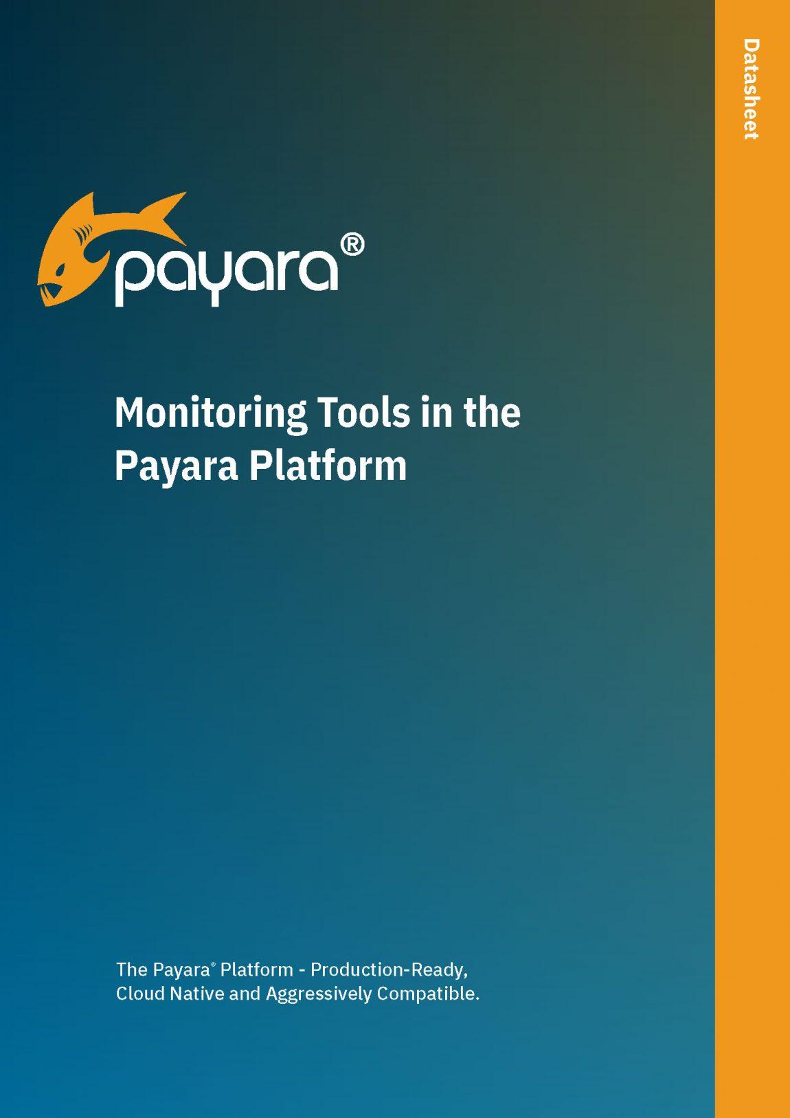 Monitoring Tools in the Payara Platform
