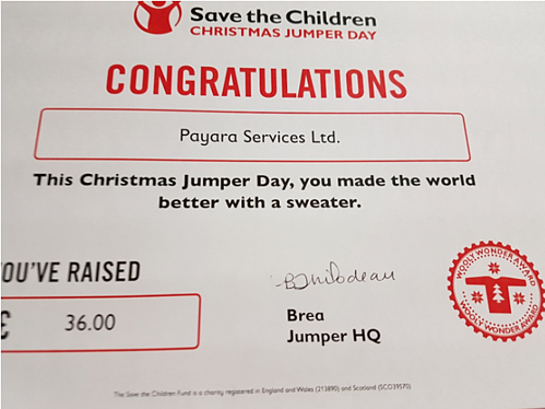 Making the World Better – by Wearing a Sweater! Save the Children Christmas Jumper Day