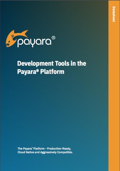 Development Tools in the Payara Platform Datasheet