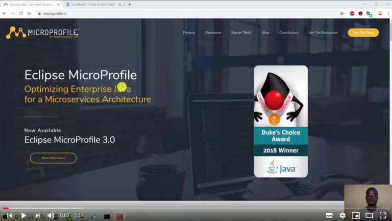 MicroProfile and Payara Platform Video Playlist