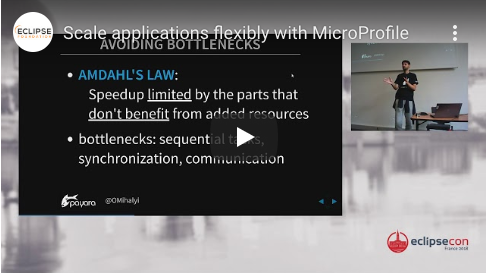 Scale applications flexibly with MicroProfile