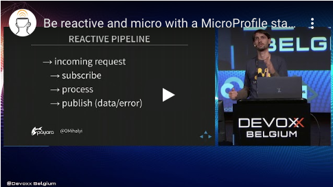 Be reactive and micro with a MicroProfile stack