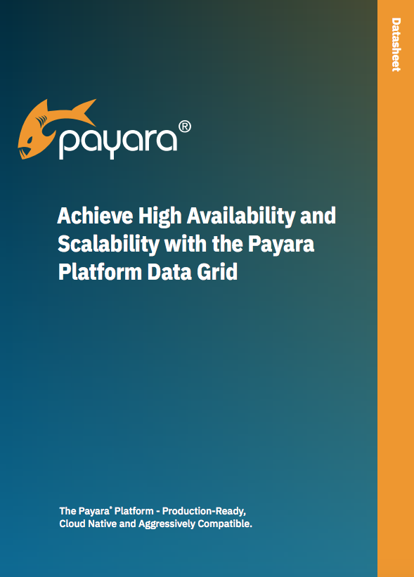 Achieve High Availability and Scalability with the Payara Platform Data Grid Cover
