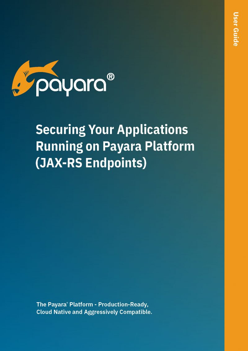 Securing Your Applications Running on Payara Platform (JAX-RS Endpoints)
