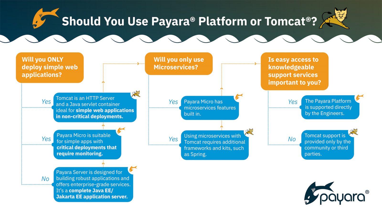 Payara Platform or Tomcat