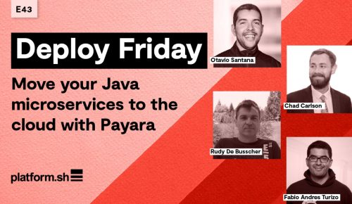 Deploy Friday: Move Your Java Microservices to the Cloud with Payara Services