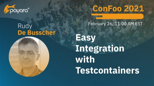 Rudy De Busscher at ConFoo 2021